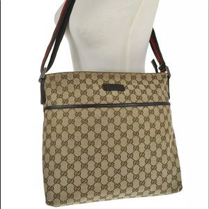 a1e5fa89a4d Gucci Bags - Authentic Gucci crossbody  Shoulder bag brown